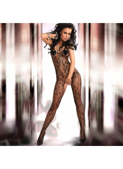 Corsetti Eden Body Stocking UK Size 812 (Fetish Stockings and Leggings) by Peaches and Screams UK Sex Shop